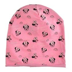 Czapka dziecięca z Myszką Minnie różowa