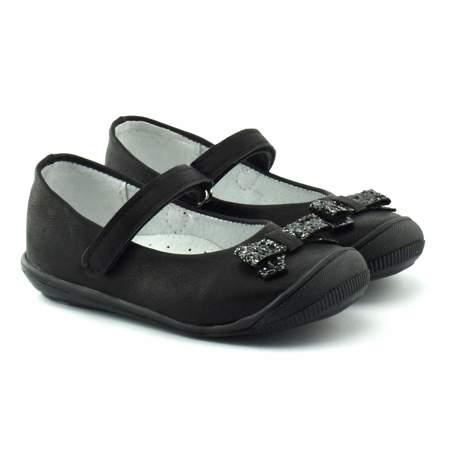 Baleriny dla dzieci Kornecki 06065 czarne