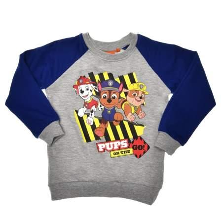 Bluza dziecięca Psi Patrol szara