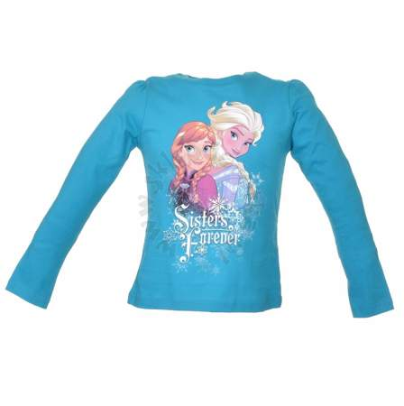 Bluzka dla dzieci z długim rękawem Frozen