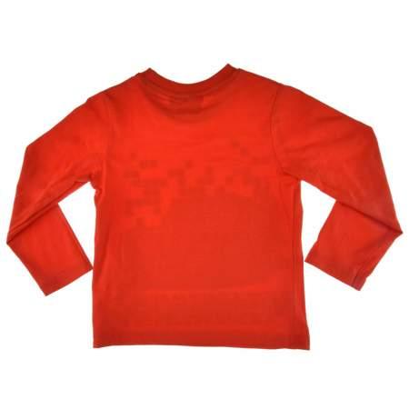 Bluzka dla dzieci z postacią z bajki Cars Auta czerwona