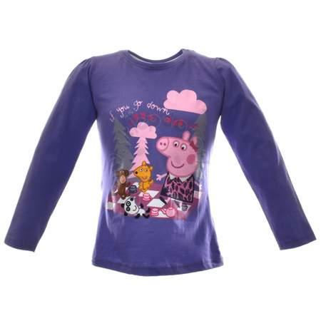 Bluzka dziecięca z bohaterami bajki Peppa Pig Świnka Peppa
