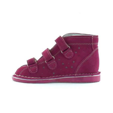 Dziecięce buty profilaktyczne Danielki T125/135 Fuksja