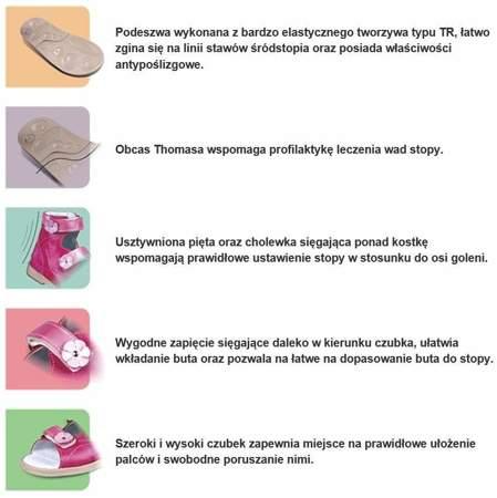 Dziecięce buty profilaktyczne Dawid 1043/102