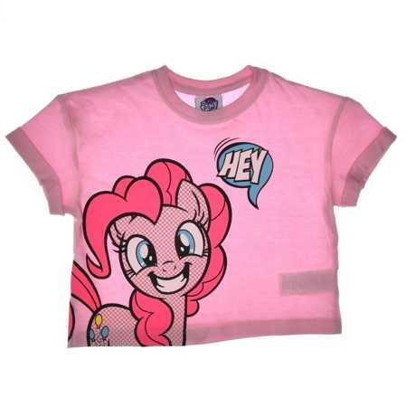 Krótki T-shirt dziecięcy My Little Pony różowy