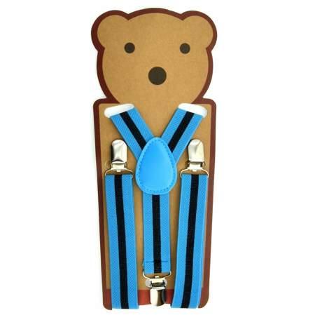 Praktyczne szelki dziecięce w niebieskim kolorze