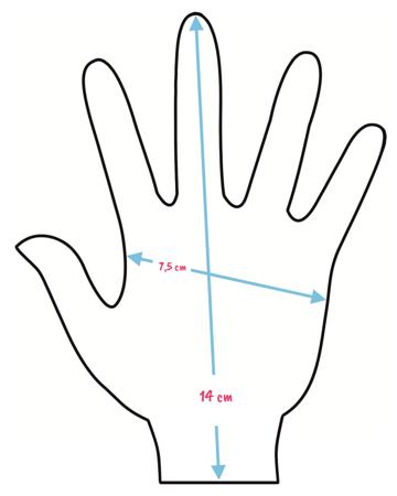 Rękawiczki dziecięce Spider-Man