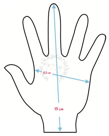 Rękawiczki dziecięce z postaciami z bajki Minionki