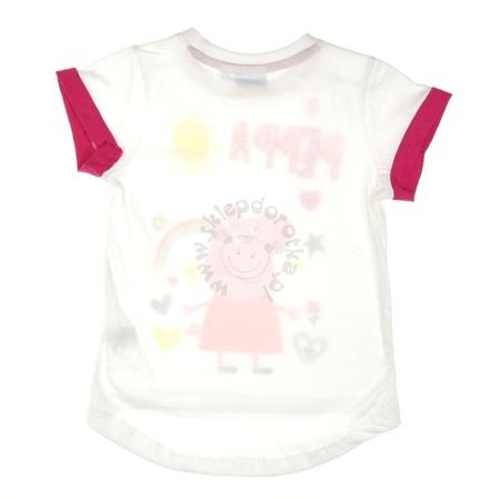 T-shirt dziecięcy z postacią z bajki Peppa